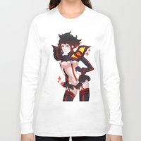 kill la kill Long Sleeve T-shirts featuring Kill La Kill by Pachiiri