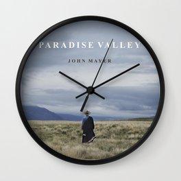 john mayer paradise valley tour dates 2021 rahardika Wall Clock