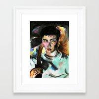 donnie darko Framed Art Prints featuring Donnie Darko Portrait by Colin Webber
