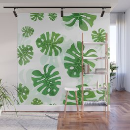 Tropical Vibes Collection: Monstera deliciosa II Wall Mural