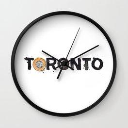 Favourite Things - Toronto Wall Clock