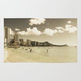 Waikiki Honolulu Oahu Hawaii Rug