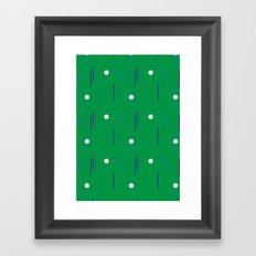 on course Framed Art Print