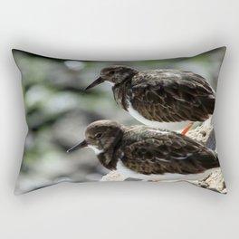 Two Sandpipers Rectangular Pillow