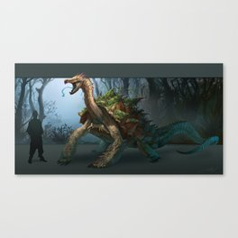 -Great White Carnotortoise- Canvas Print