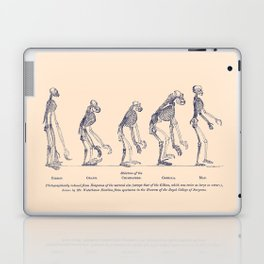 Evidence as to Man's Place in Nature - T. H. Huxley 1863 Laptop & iPad Skin