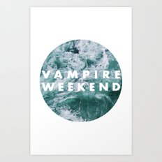 Vampire Weekend Art Print