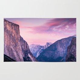 Yosemite Sunrise Rug