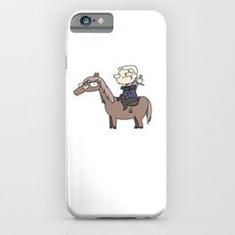 Roach and Geralt iPhone Case