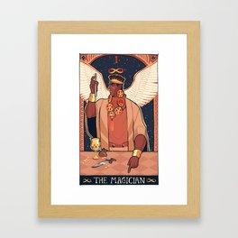 MAGICIAN'S RED (I) Framed Art Print