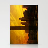 minneapolis Stationery Cards featuring golden minneapolis by sara montour