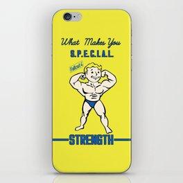 Strength S.P.E.C.I.A.L. Fallout 4 iPhone Skin