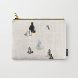 Marble Rock Formation Carry-All Pouch