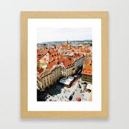 CITY CENTRE Framed Art Print