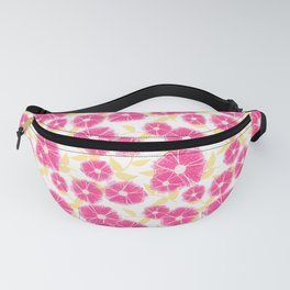 12 Sketched Mini Flowers Fanny Pack