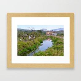 El Campo Framed Art Print