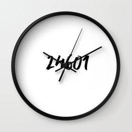 24601 - Les Miserables Wall Clock