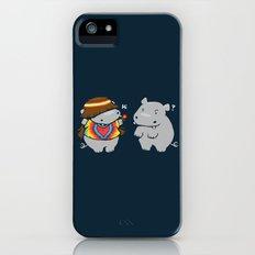 Hippypotamus iPhone (5, 5s) Slim Case