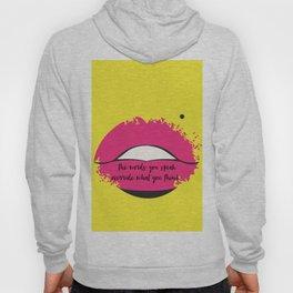 Lips of Wisdom Hoody
