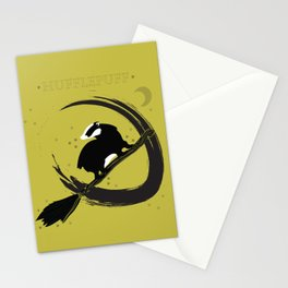 Hufflepuff and proud. Stationery Cards