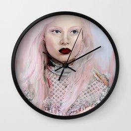 Pastel Beauty Wall Clock