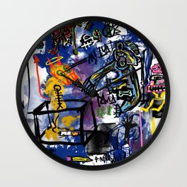 In our Nature Wall Clock