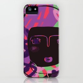 Protect_BLACK iPhone Case