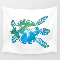 Mother Earth II Wall Tapestry