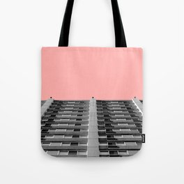 The sky was pink Tote Bag