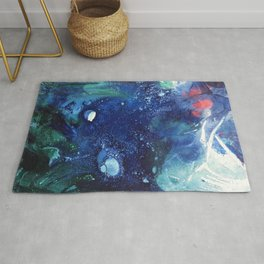 Bright Ocean Life, Tiny World Collection Rug