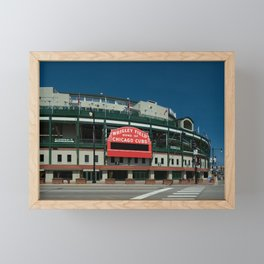 Full Color Wrigley Framed Mini Art Print