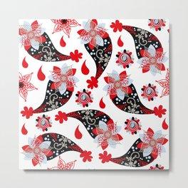 Paisley pattern #D2 Metal Print
