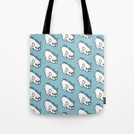 Need a break, the cute French Bulldog wants to take a nap Tote Bag