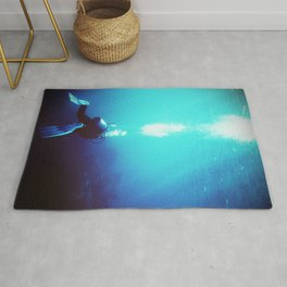 The Diver Rug