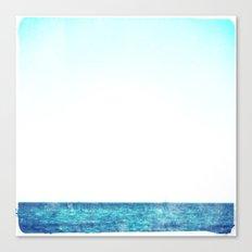 summer sail (blue) Canvas Print