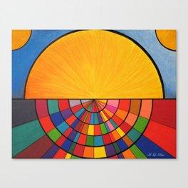 Dawn In a Digital Age Canvas Print