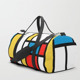 Tribute to Mondrian No2 Duffle Bag