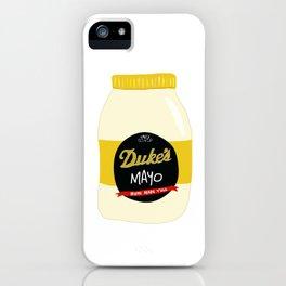 Duke's Mayonnaise iPhone Case