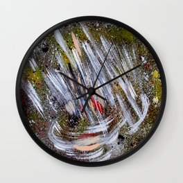 Sideral space Wall Clock
