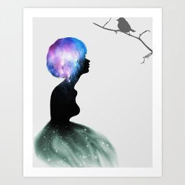 Piece of Celestial Mind Art Print