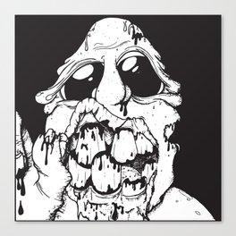 A Living Dead Guy Canvas Print
