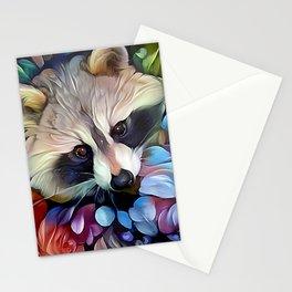 Peekaboo Raccoon Stationery Cards