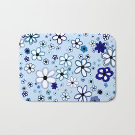 The Answer: Blue Bath Mat