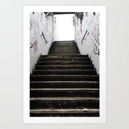 Stairway of Mysteries Art Print