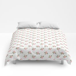 Dotty Dogroses Comforters