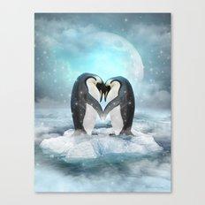 Listen Hard (Penguin Dreams) Canvas Print