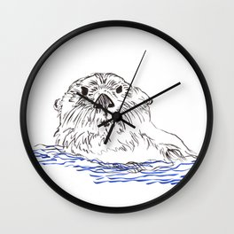 What Are You Looking At Wall Clock