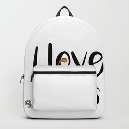 I love cats Cat Kitty Kittens Meow Tabby Kitten Backpack