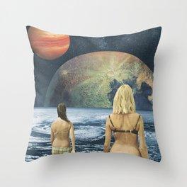 Celestial Bodies Throw Pillow