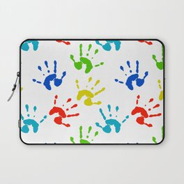 Hands of colors Laptop Sleeve